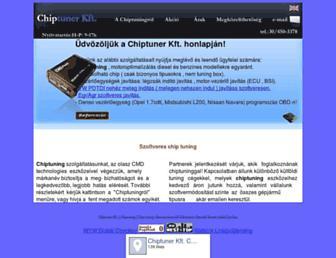 chip-tuner.hu screenshot