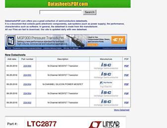 datasheetspdf.com screenshot