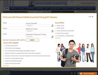 iihtvadapalani.com screenshot
