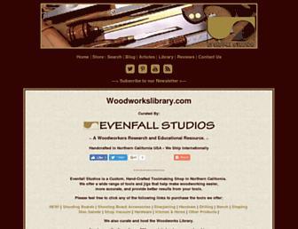 woodworkslibrary.com screenshot