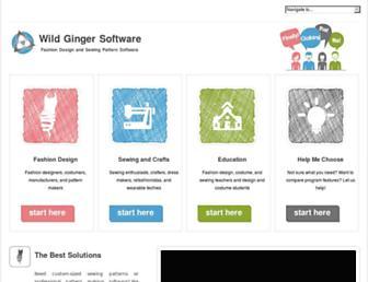 wildginger.com screenshot