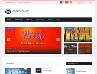 beatproduction.net screenshot