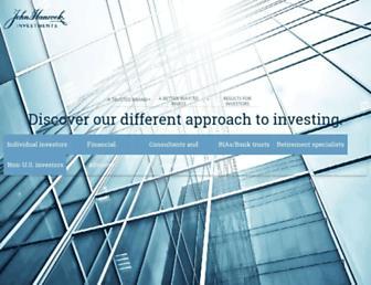 jhinvestments.com screenshot