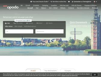 opodo.fr screenshot