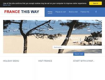 Thumbshot of Francethisway.com