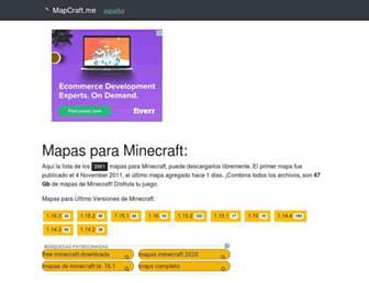 es.mapcraft.me screenshot