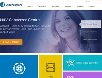 adoreshare.com screenshot