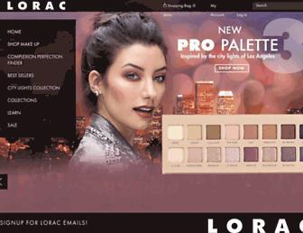 Thumbshot of Loraccosmetics.com