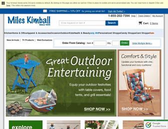 Thumbshot of Mileskimball.com