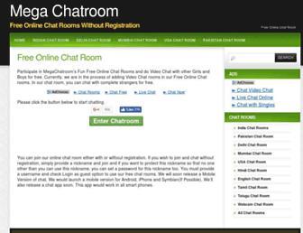 megachatroom.com screenshot