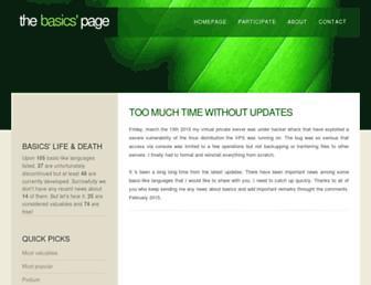 basic.mindteq.com screenshot