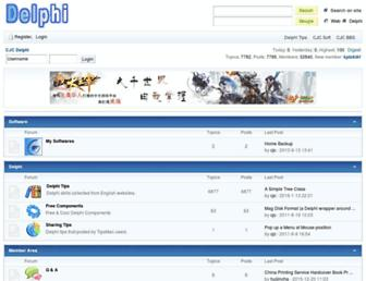 delphi.cjcsoft.net screenshot