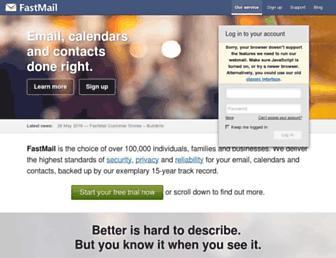 fastmail.com screenshot