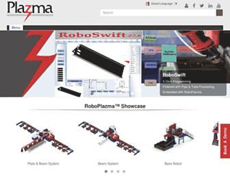 plazmasolutions.com screenshot