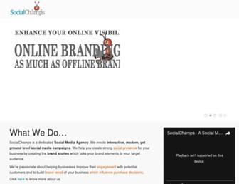 socialchamps.com screenshot