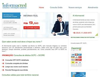 Thumbshot of Informacred.com.br