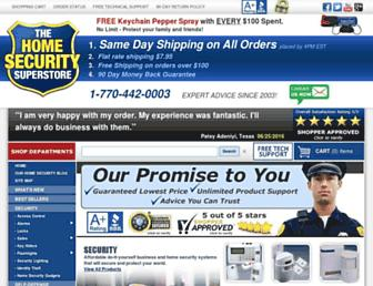 Thumbshot of Thehomesecuritysuperstore.com