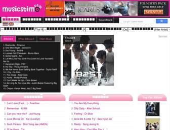 musicstime.com screenshot
