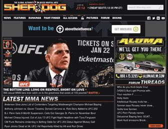 Thumbshot of Sherdog.com