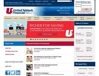 utfinancial.org screenshot