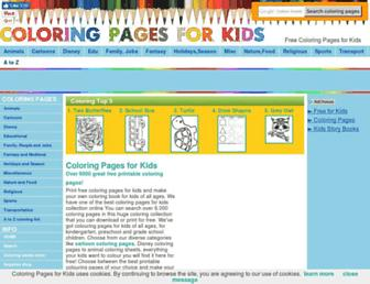 Thumbshot of Coloring-pages-kids.com