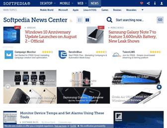 news.softpedia.com screenshot
