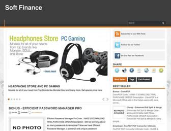 softfinancex.blogspot.com screenshot