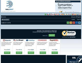 ssl247.com screenshot