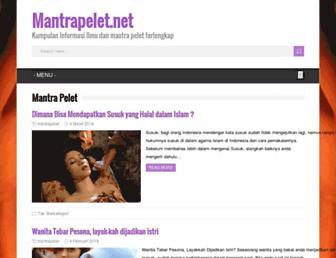 mantrapelet.net screenshot
