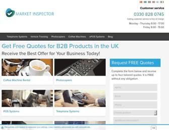 market-inspector.co.uk screenshot
