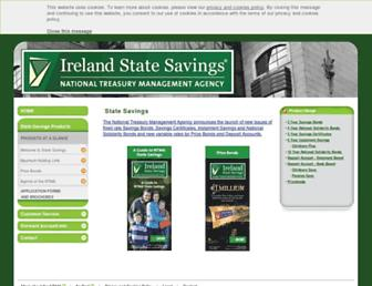 statesavings.ie screenshot