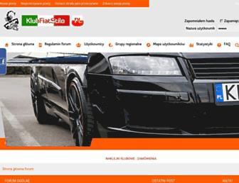 klubfiatstilo.pl screenshot