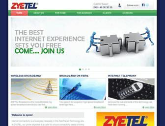 Thumbshot of Zyetel.com