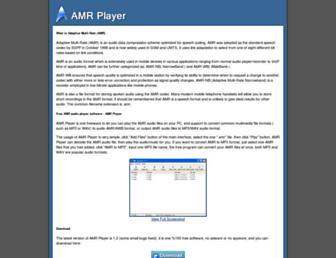 amrplayer.com screenshot