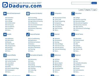 Thumbshot of Daduru.com