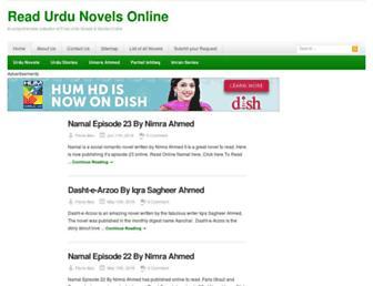 Thumbshot of Urdunovels.org