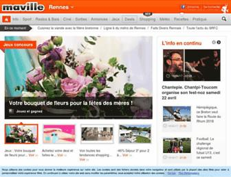 rennes.maville.com screenshot