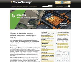 microsurvey.com screenshot