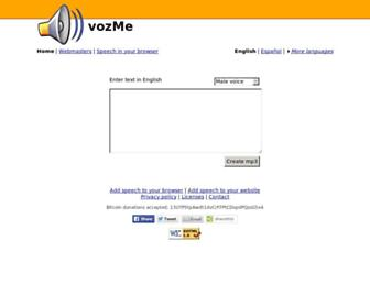 Thumbshot of Vozme.com