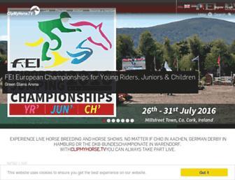 clipmyhorse.tv screenshot