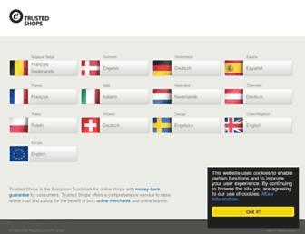 Thumbshot of Trustedshops.com