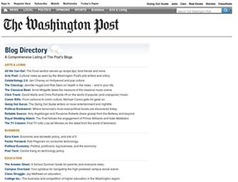 voices.washingtonpost.com screenshot