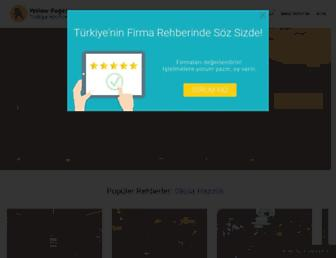 en.yellowpages.com.tr screenshot