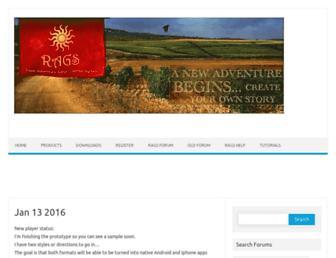 ragsgame.com screenshot