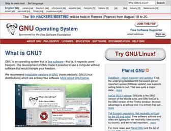Fullscreen thumbnail of gnu.org