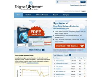 enigmasoftware.com screenshot