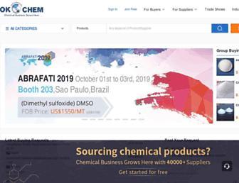 okchem.com screenshot