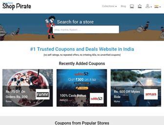 Thumbshot of Shoppirate.in