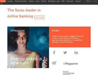 en.swissquote.com screenshot