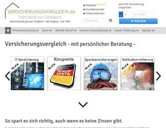Fullscreen thumbnail of versicherungsvergleich.de